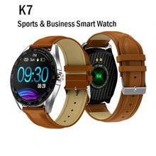 2019 K7 Round Screen Men Smart Watch Android IP68 Waterproof Blood Pressure Heart Rate Monitor Fitness Tracker Smartwatch Women