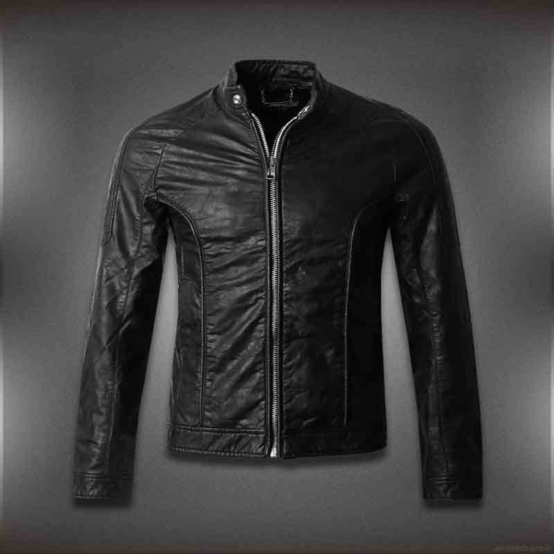 Men's designer jackets on sale feature soft and supple leather jackets alongside structured blazers. The color palette is primarily neutral, enlivened by flashes of deep hues. The color palette is primarily neutral, enlivened by flashes of deep hues.