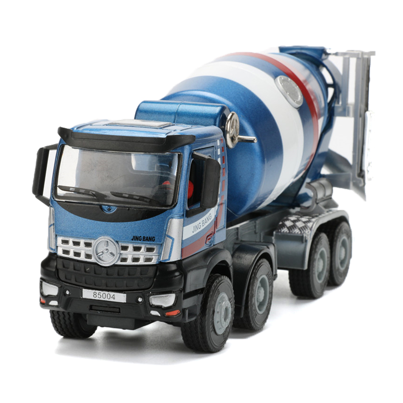JINGBANG 1:50 сплав агитирующий грузовик модель игрушечной машины прокручиваемые цементные игрушки танки для детей мальчиков подарок