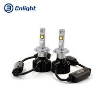 Cnlight высокое качество H7 светодио дный фар супер яркий лампы 5000 К 6500 К 8000 Люмен 70 Вт автомобиля лампы