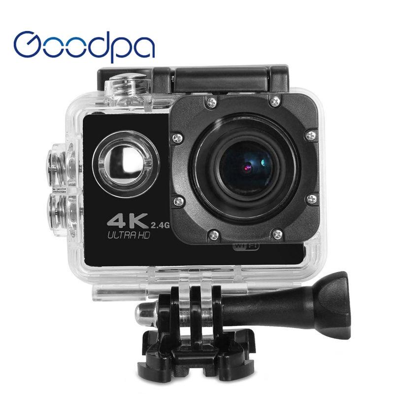 Sport & Action-videokamera DemüTigen Goodpa Action Kamera Deportiva Original F60/f60r Remote Ultra Hd 4 Karat Wifi 1080 P 60fps 2,0 Lcd 170d Pro Sport Wasserdicht Go Kamera