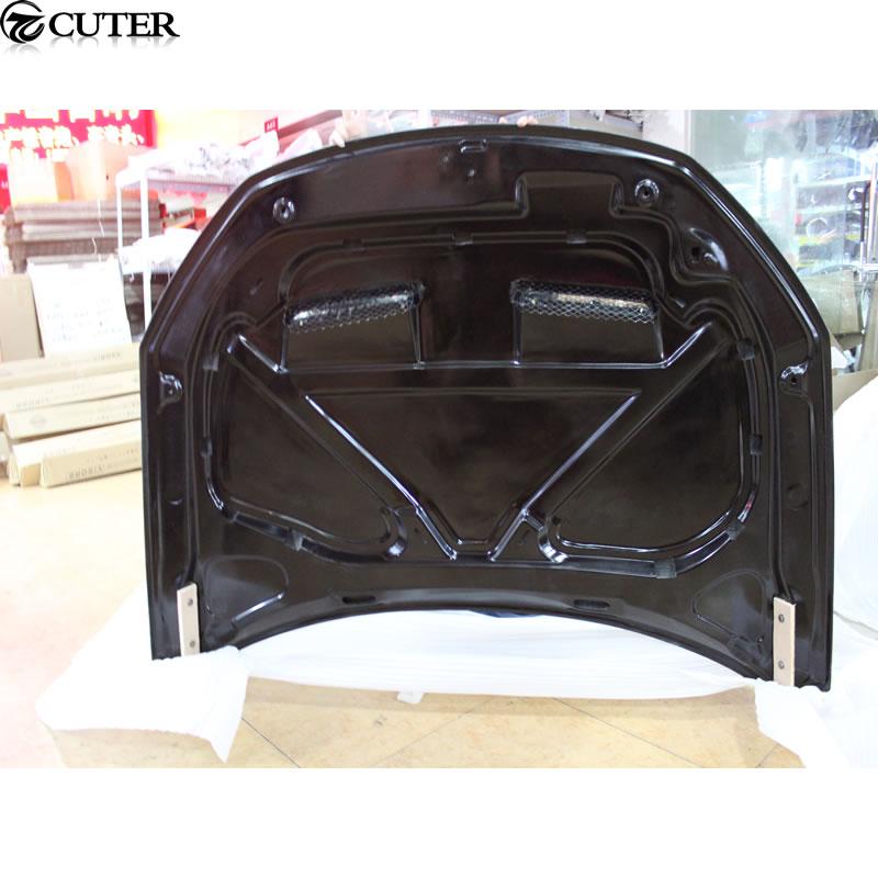 R Стиль углеродного Волокно передний капот Капоты для автомобиля Чехлы для мангала для Volkswagen VW Scirocco 2009-2014