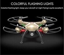 Skala besar RC Quadcopter Drone 4CH 2.4 GHz X8HC 6 Sumbu dengan Kamera 2.0MP Automati Udara Tekanan Tinggi Headless Modus PK X8C U842