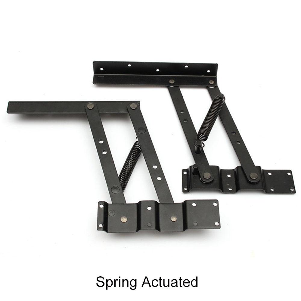 Image 4 - 2 шт. шарниры для стола, подъемные верхние журнальные столы, аппаратные мебельные петли для 30 кг подъемного стола и складного шарнира шкафаПетли для шкафа    АлиЭкспресс