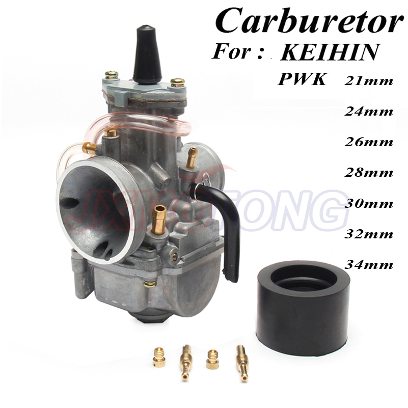 Motorcycle PWK Carburetor for keihin koso pwk carburetor Carb 21 24 26 28 30 32 34 mm with power jet fit on racing motor цена