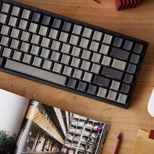 Image 2 - keycool 84 bluetooth mechanical keyboard cherry mx clear switches wireless game keyboard mx brown mini84 BT 4.0