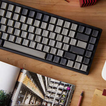 keycool 84 bluetooth mechanical keyboard cherry mx clear switches wireless game keyboard mx brown mini84 BT 4.0