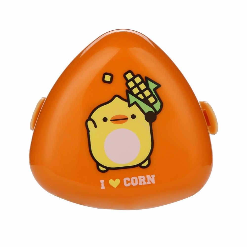 HAICAR Forma Bonito Dos Desenhos Animados do Almoço Caixas de Alimentos Recipiente De Armazenamento De Frutas Sushi Bento Box Para Crianças Estudante de Criança Portátil caixa de armazenamento