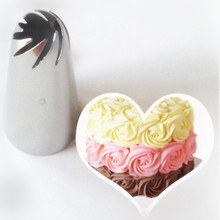 Stainless Steel Flower Icing Piping Nozzles Cake Decoration Pastry Mold Tips Nozzles  Cream Bakeware Cupcake Cake Decorating Too
