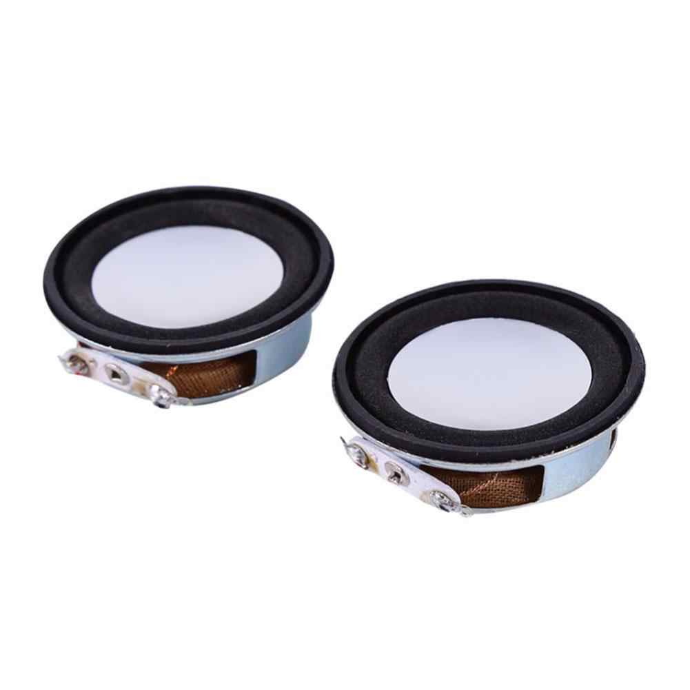 2pcs/set 4Ohm 3W 40mm Loudspeaker Woofer Audio Portable Speaker Full Range Speaker Magnetic DIY Stereo Box Accessories Wholesale