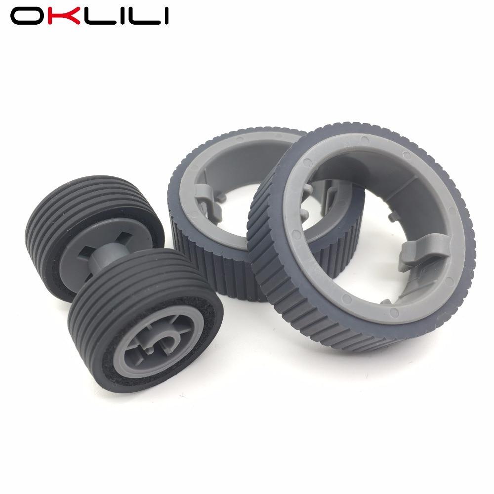 10X PA03670 0001 PA03670 0002 Consumable Kit Pick Roller Brake Roller Pickup Roller for Fujitsu fi