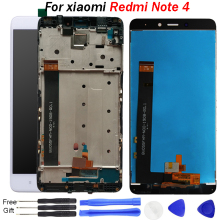 note 4 lcd ekra For xiaomi redmi note 4 LCD Display touch screen With Frame 5.5 Inch Test For Xiaomi Redmi Note 4 Display screen industrial display lcd screen9 4 inch l m g5371xufc f lcd screen