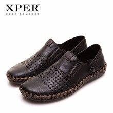 2018 XPER Brand Fashion Summer Men Loafers Luxury Men Casual Shoes Men Wear Comfortable Mocassin Walking Footwear Hole #YMD86688