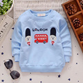 Spring and autumn new baby boy cotton o-neck long-sleeve T-shirt cartoon 0-3 years children basic shirts infant boy thin coats