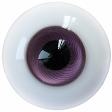 [wamami] 8mm Purple Yeux Verre Yeux Outfit Pour DOD MSD LUTS DZ BJD Doll Dollie