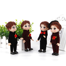 Mini Doll Toys Fashion Girls for And Boys Kids 18cm Keychain Wedding-Confused Children's-Day-Birthday-Gift