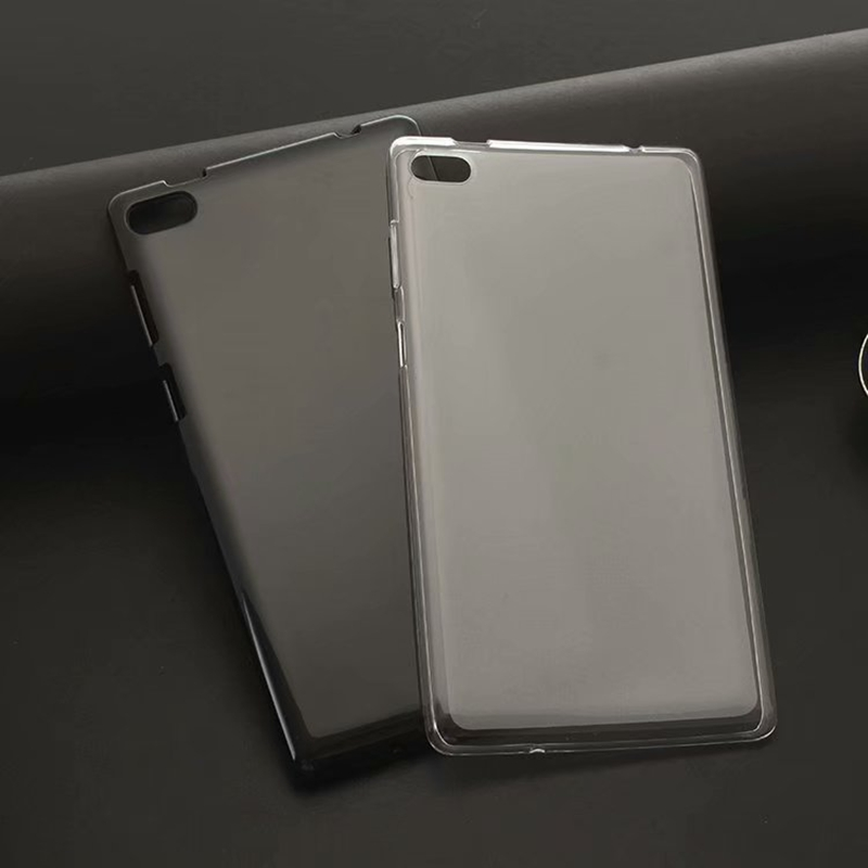 Soft TPU Back Cover Case for <font><b>Lenovo</b></font> <font><b>Tab</b></font> 4 <font><b>7</b></font> inch <font><b>TB</b></font>-7504 <font><b>TB</b></font>-7504F <font><b>TB</b></font>-<font><b>7504X</b></font> <font><b>TB</b></font>-7504N <font><b>TB</b></font>-7504I <font><b>7</b></font> inch Tablet + Stylus Pen image