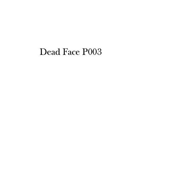 Special lista de muertos cara por favor no compra esta lista p003
