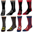 Algodón Jacquard calcetines de hombre de Avenger unión Captain America Superman Batmen Deadpool Punisher marea calle patineta calcetín