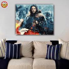 painting by numbers art paint by number Diy Game of Thrones illustration A Song of Ice and Fire(China)