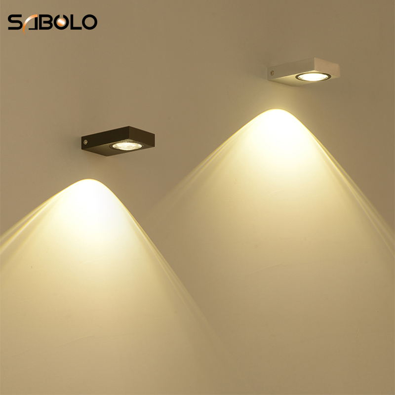 Lighting Basement Washroom Stairs: Bedroom Wall Light Modern Minimalist Up & Down LED Wall