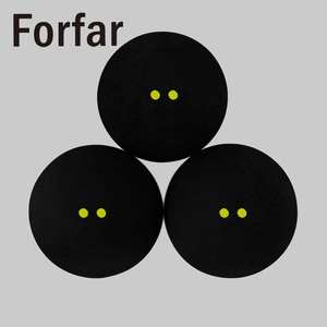Player Rubber-Balls Competition Professional Low-Speed Training Sports 1pc Dots Two-Yellow
