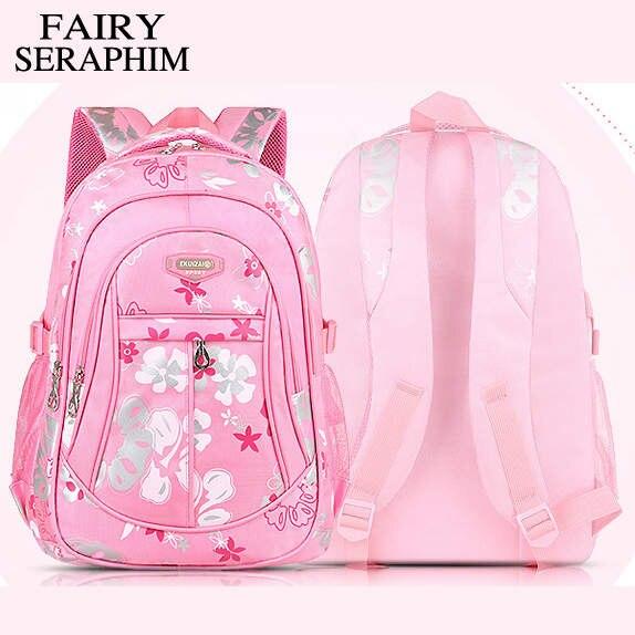 74a53ed6a83b Online Shop FAIRY SERAPHIM Fashion new design teenager ladies casual daypack  girls high school bag children gift mochila travelling backpack