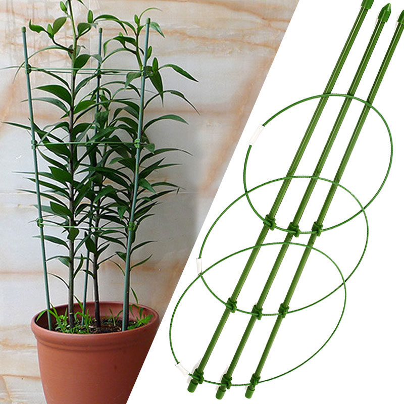 60cm Flower Plants Clematis Climbing Rack Support Shelf House Plant Growth Scaffold Ladder Building Garden Tool Construction Tools