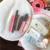 Big eye makeup bag girls diarias de mano bolsa de cosméticos de gran capacidad Neceser de viaje Bolsa de Maquillaje Bolsos de Las Mujeres de Nylon Bolso de Cuty Anime