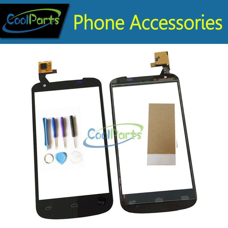 1pc/Lot High Quality For Gigabyte Gsmart GS202 Touch Screen Digitizer Touch Glass Replacement Part With Tool&Tape Black Color