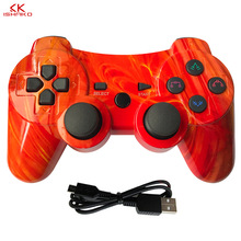 For sony ps3 controller Wireless Bluetooth Gamepad For PS3 Controller game Joystick Playstation Double vibration Console ipega for sony playstation 3 wireless bluetooth gamepad joystick for ps3 controller controls game gamepad 11 colors free shipping