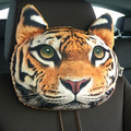 3D Car Headrest Seat Covers Supplies Neck Auto Safety headrest Car Styling  car safety headrest Car personality decoration