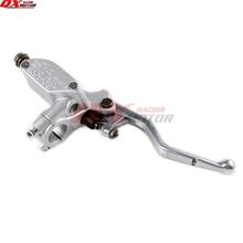 цена на NEW Front Brake pump brake master cylinder pump For CR CRF250 CRF450 KXF KAYO Xmotos dirt bike Motocross Free shipping