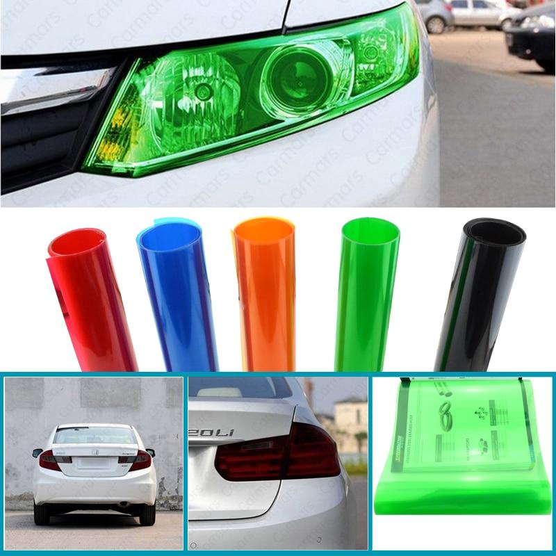 SPEEDWOW Бесплатная доставка 30CMX100CM авто стайлинг свет фар задний фонарь оттенок укладки Водонепроницаемый виниловая пленка стикер автомобиля