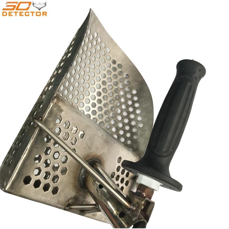stainless steel metal sand scoop hand held beach sand scoop stainless steel metal sand scoop