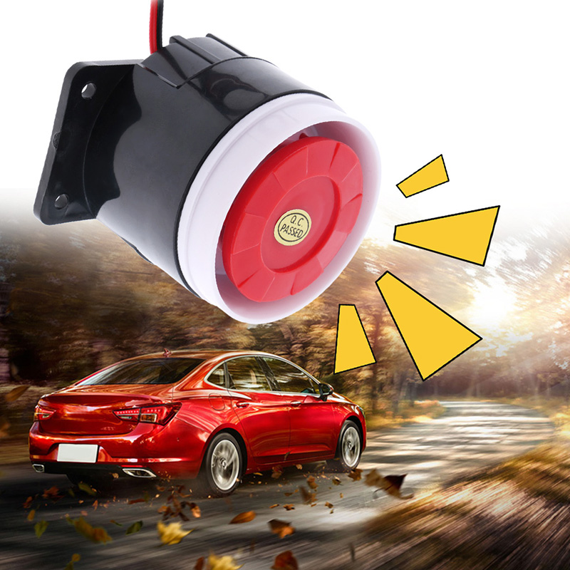 Image 5 - 1 Pcs DC 12V Auto Car Warning Siren Backup Alarms Horns Warning Sound Beeper Reverse Siren Horn Truck/RV/ATVCar Accessories-in Multi-tone & Claxon Horns from Automobiles & Motorcycles