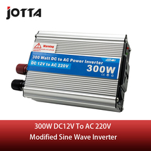 300W WATT DC 12V to AC 220V modified sine wave Portable Car Power Inverter Adapater Charger Converter Transformer