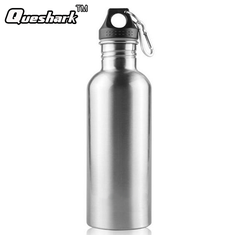 Fitness Cycling Sport Bottle 1L Stainless Stainless Steel Mountain Road Bike Bicycle Water Bottle for Trekking Camping Hiking