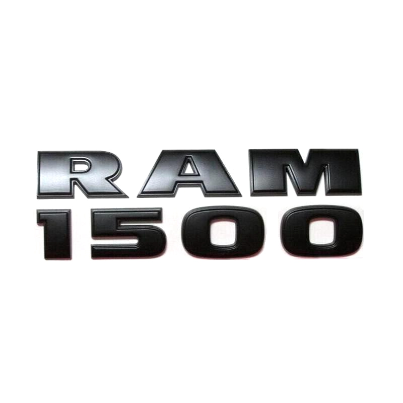 Abs Plastic Ram 1500 Emblem Badge Logo 3d In Car Stickers
