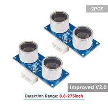 SunFounder Ultrasonic Module HC-SR04 Distance Sensor for Arduino UNO Mega2560 Duemilanove Nano Robot Raspberry Pi 3, 2 Model B