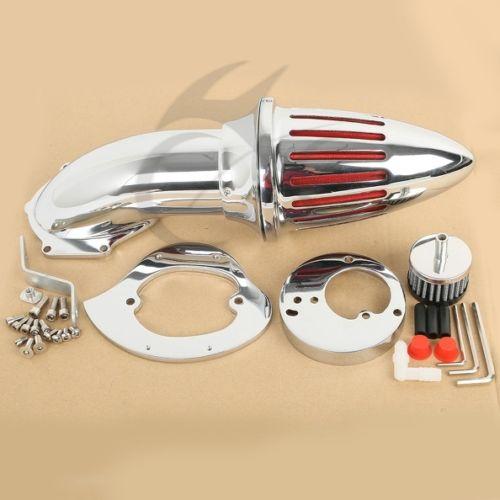 Aluminum Air Cleaner Kits intake filter for Honda VTX1300 VTX 1300 1986-2012 87