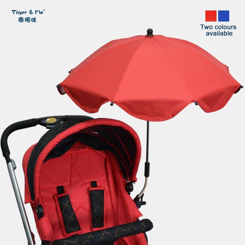 Kinder UV Regenschirm Baby Sonnenschirm Universal Kinderwagen Buggy Sonnenschirm