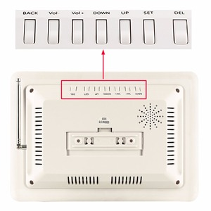 Image 5 - אלחוטי מסעדת מלצר קורא מערכת 10pcs שיחת כפתור + 1 מקלט מארח תצוגת עם קול דיווח מסעדה ציוד
