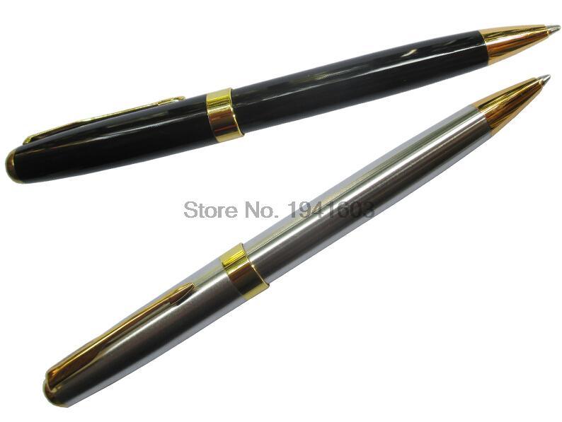 1 Piece Ballpoint Pen BAOER 388 standard pen office and school stationery 2 colors to choose baoer air force one school