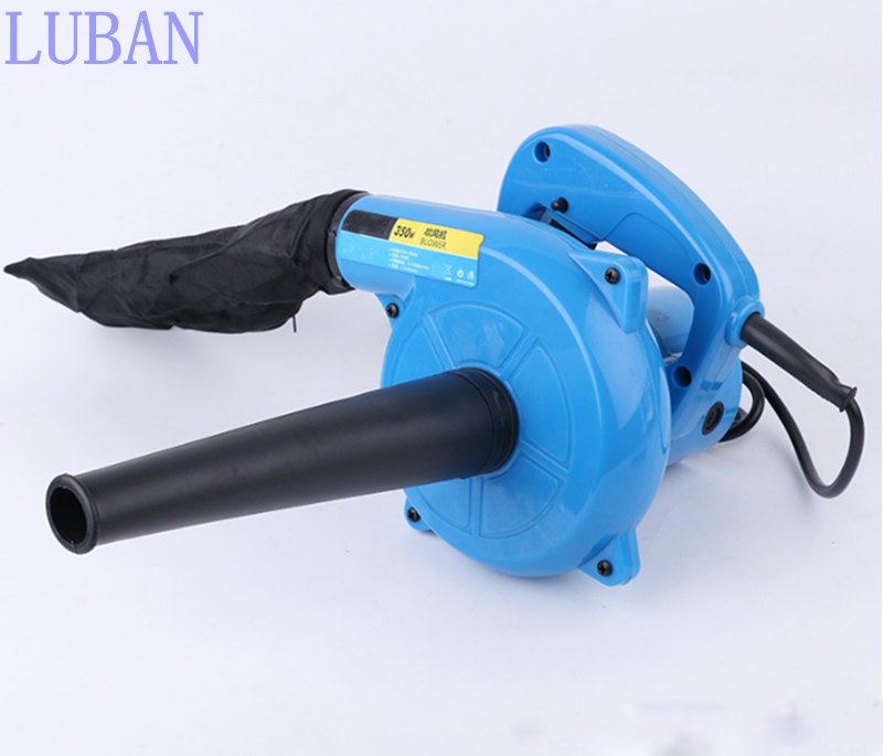 350w 220V High Efficiency Electric Air Blower for Cleaning computer Vacuum Cleaner Blowing/Dust collecting 2 in 1 LUBAN high efficiency electric 600w hand operated air blower vacuum cleaner blowing dust collecting 2 in 1