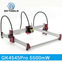 GKTOOLS All Metal 45 45cm 5500mW Wood Laser Engraver Cutter Engraving DIY Machine Mini CNC Printer