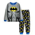 Boys cotton kids pajamas set long-sleeved pyjamas baby boy's sleepwear childen Batman clothing baby pyjamas pijama 2-7Y P62