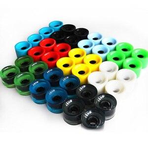 Image 5 - 4pcs Longboard Skateboard Wheels 70mm Wheel for Long Board Skateboard Multicolor Wearproof 78A