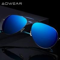 Classic Aviator Men Sunglasses Women Polarized Cool Flash Coating Mirror Glasses UV400 Eyewear Male Oculos Aviadores