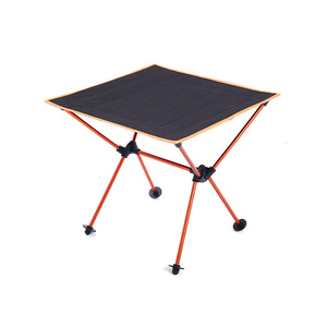 Image 3 - Portable Lightweight Outdoors Table For Camping Table Aluminium Alloy Picnic BBQ Folding Tables Outdoor Tavel Portable Tables